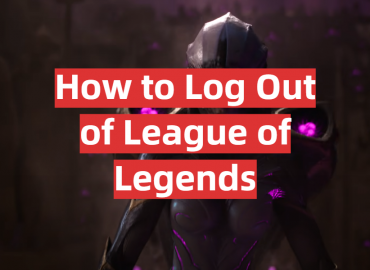 How to Log Out of League of Legends